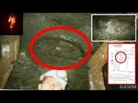 """300 Million Year Old """"Chariot Wheel"""" Found Deep In Mine?"""
