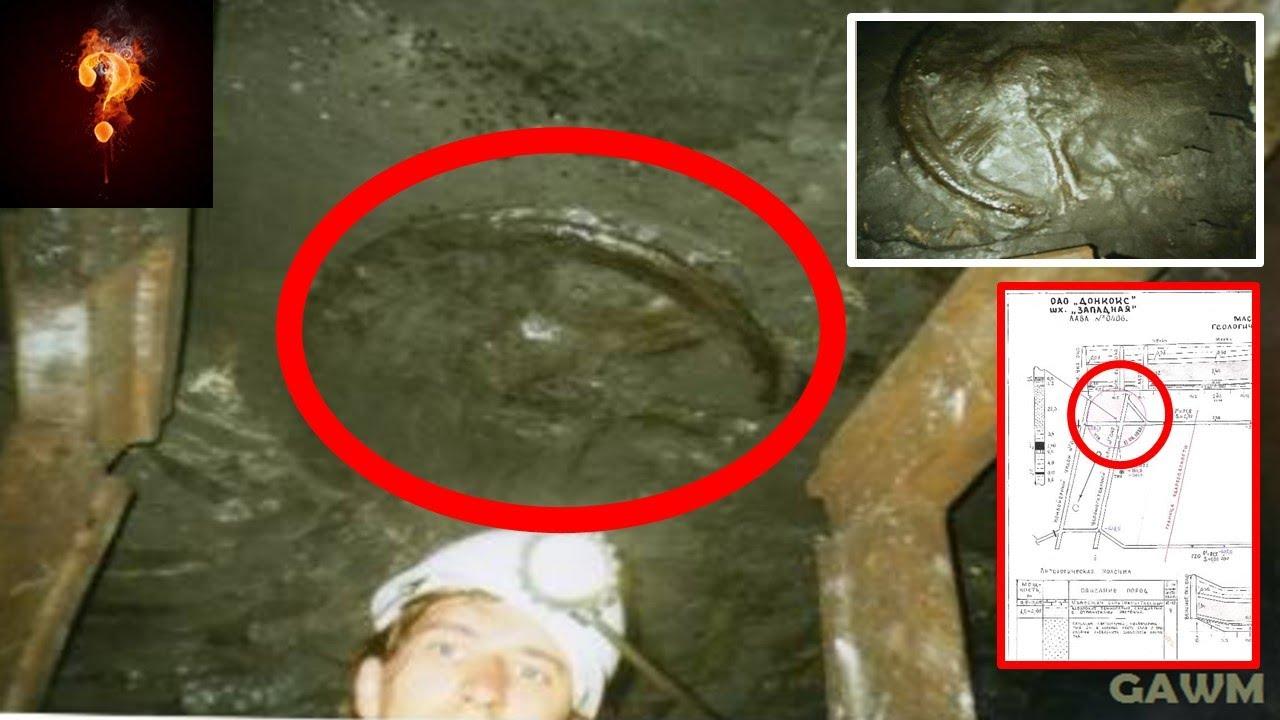 300 million year old chariot wheel found deep in mine youtube