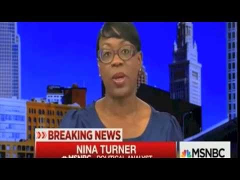 OMG!!! Nina Turner - Institutional racism exists in the DNA of America