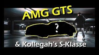 BRUTALER AMG GTS und Kollegah's S63 AMG bei den Prinzen ★4K★ | Folienprinz