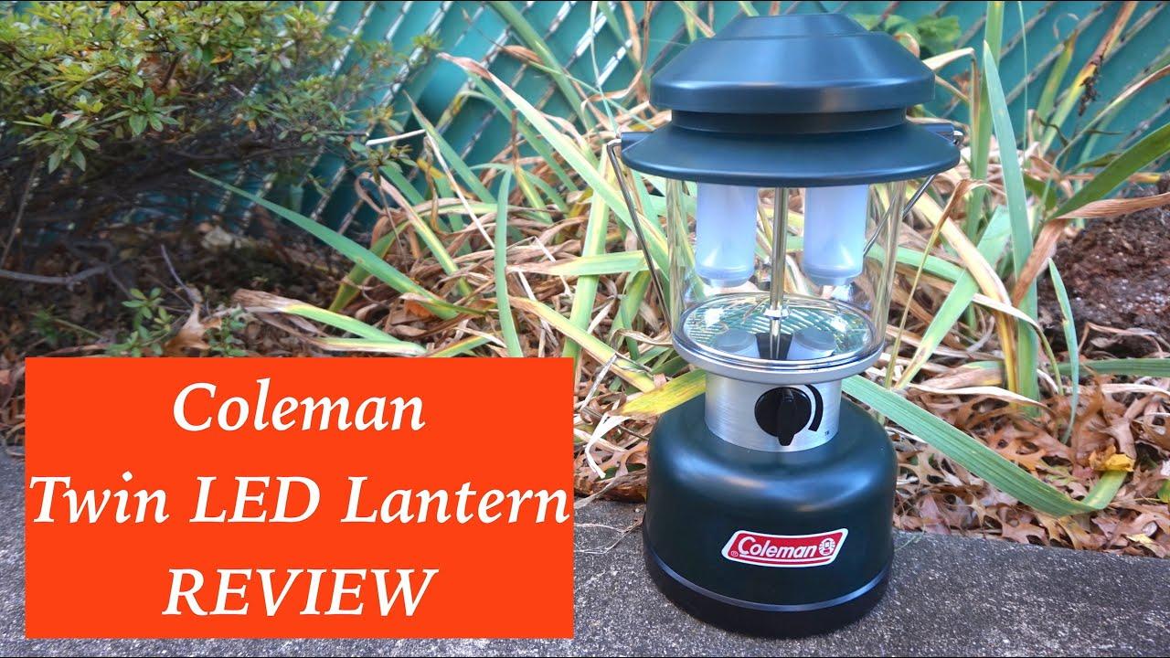 Coleman Twin LED Lantern Review