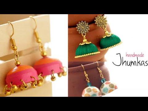 Easy Handmade Jhumkas