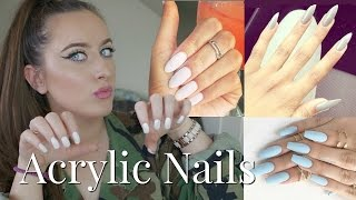 EVERYTHING YOU NEED TO KNOW BEFORE GETTING ACRYLIC/GEL NAILS