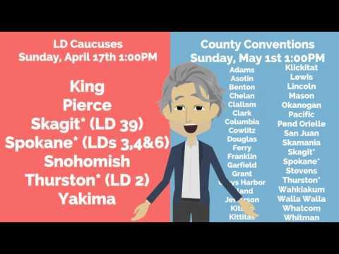 2016 Democratic Caucuses -- Next Steps: LD Caucus & County Convention