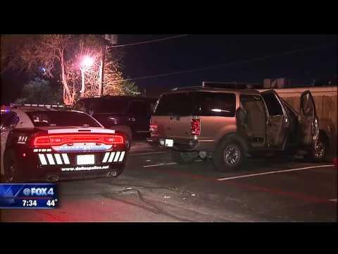 2 shot outside Dallas apartment