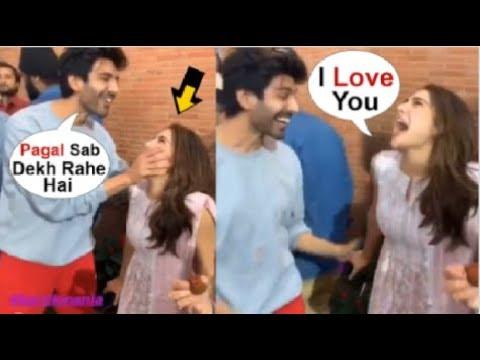 Sara Ali Khan CUTEST Moment With BOYFRIEND Kartik Aaryan On The Sets Of Love Aaj Kal 2 Mp3