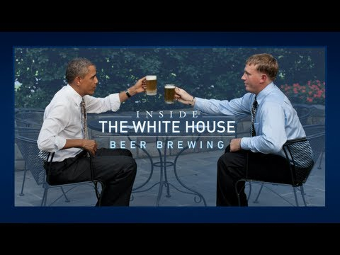 Inside the White House: Beer Brewing