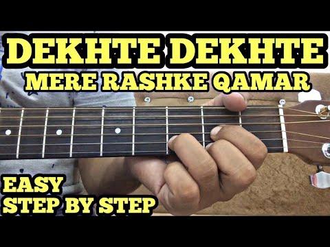 Dekhte Dekhte Guitar Chords Lesson | Atif Aslam | Batti Gul Meter Chalu | FuZaiL Xiddiqui