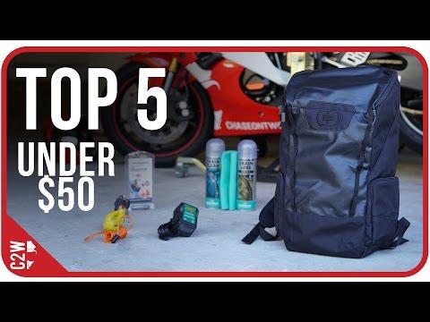 Top 5 Motorcycle Accessories under $50 (2015)