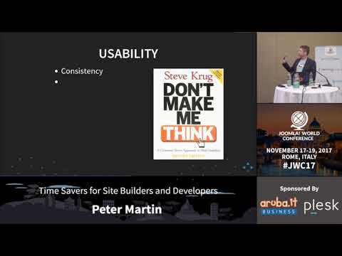 Time Savers for Site Builders and Developers - Peter Martin