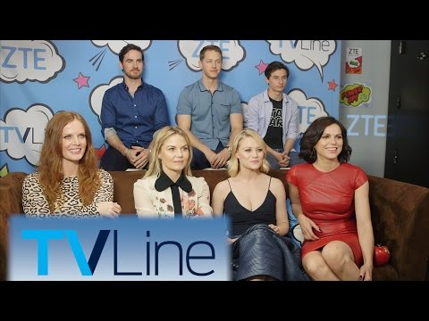 Once Upon A Time Interview | TVLine Studio Presented by ZTE | Comic-Con 2016