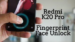 Redmi K20 Pro Face Unlock, In-display Fingerprint Test, Fingerprint Shortcuts - How good is it?