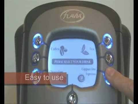 Flavia Creation 400 Coffee Machine Kafevend Youtube