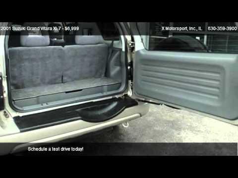 Suzuki Grand Vitara Xl7 Plus X Motorsport Inc Youtube