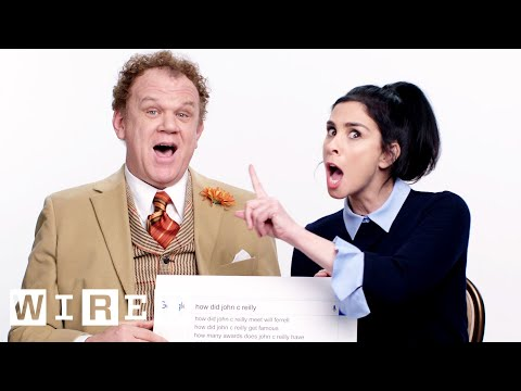 Sarah Silverman & John C. Reilly Answer the Web's Most Searched Questions  WIRED