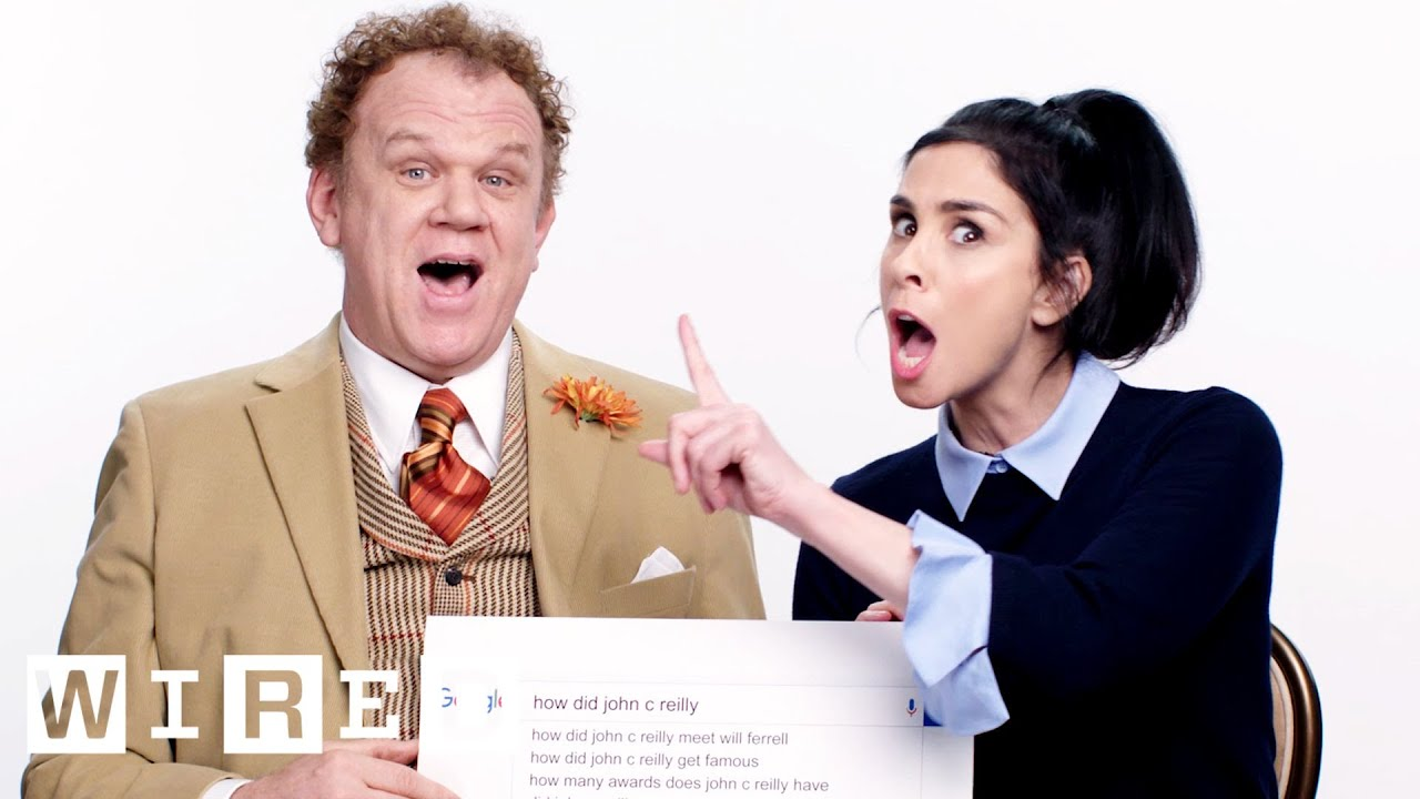 Sarah Silverman & John C. Reilly Answer the Web's Most Searched Questions | WIRED