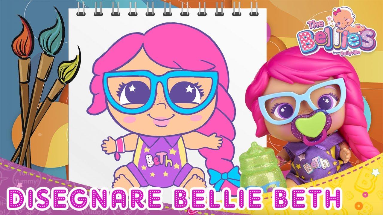 Come DISEGNARE BELLIE BETH passo per passo 🖌️👑 TUTORIAL di DISEGNO per bambini Bellies