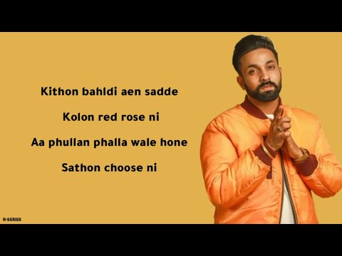 Red Rose (Lyrics) - Dilpreet Dhillon | Parmish Verma