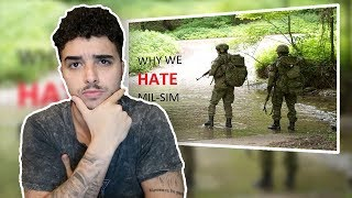 Ex British Soldier reacts Why SOLDIERS HATE Airsoft MIL-SIM!