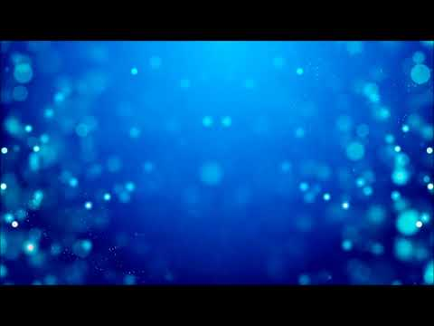 BLUE BOKEH PARTICLES PASSING BY | Relaxing Screensaver
