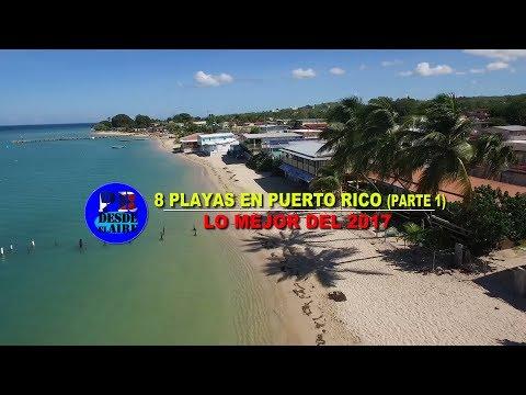 8 PLAYAS en PUERTO RICO (parte 1) || LO MEJOR del 2017