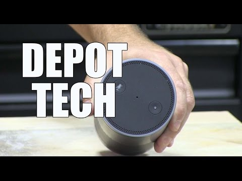 Home Depot Tech - Amazon Echo, Ring Pro and the Canary