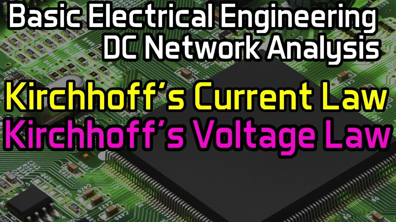 Kirchhoffs Current Law Voltage Youtube