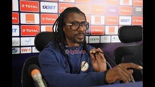 """Finale CAN 2019-Aliou Cissé : """"je suis triste que Koulibay ne soit pas avec nous"""""""