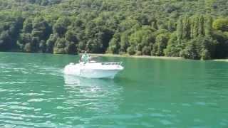 Риболовля на озері Бурже у Франції