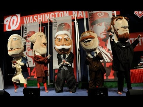 Nationals Introduce Racing President William Howard Taft