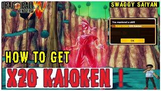 "How To Get x20 Kaioken | Dragon Ball Xenoverse (PQ) Parallel Quest ""Saiyan Pride"""