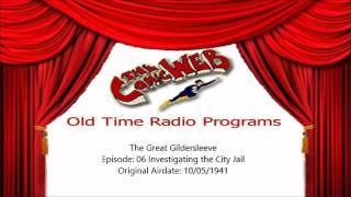 Great Gildersleeve: 006 Investigating the City Jail – ComicWeb Old Time Radio