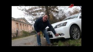 Lexus GS 350 AWD / Тест драйв