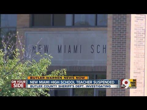 New Miami High School teacher suspended