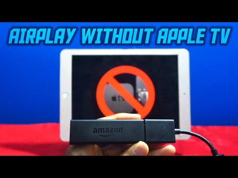 AIRPLAY TO YOUR TV WITHOUT APPLE TV! (SCREEN MIRRORING)