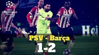 El resumen del PSV - Barça de Champions League