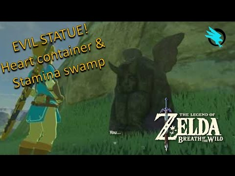 heart container & Stamina swamp  Zelda breath of the wild tips & tricks