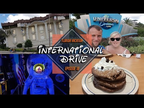 FLORIDA VACATION 2016| DAY 16 | I DRIVE , WONDER WORKS  AND GOLF