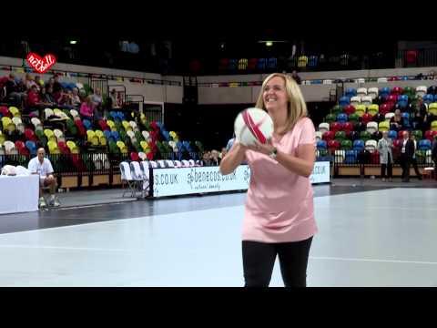 Tracey Neville- 3 Shot Challenge