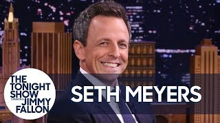 Seth Meyers Reveals Rihanna's One Weakness