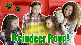 Eating Reindeer Poop! Yummy DIY Christmas Recipe!