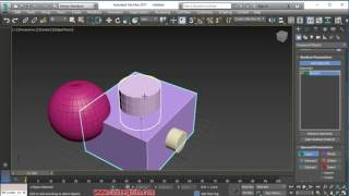 3ds max 2017 boolean