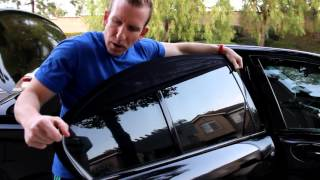 Absolute Sun Shield For Car Truck SUV Protects Pets, Babies From Sun - REVIEW