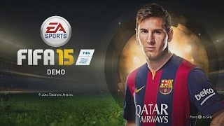 FIFA 15 Xbox One FIFA 15 Demo Gameplay FIFA 15 Demo Review