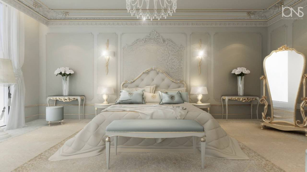 Neoclassical Interior Design Bedroom