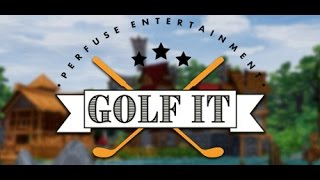 играем в golf it на новой карте