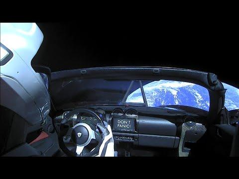 SpaceX: Live Views of Starman