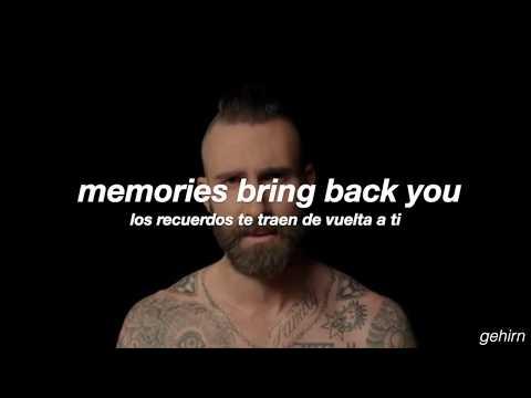 Maroon 5 - Memories // lyrics // espaol + official video