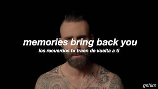 Maroon 5 - Memories // lyrics // español + official video