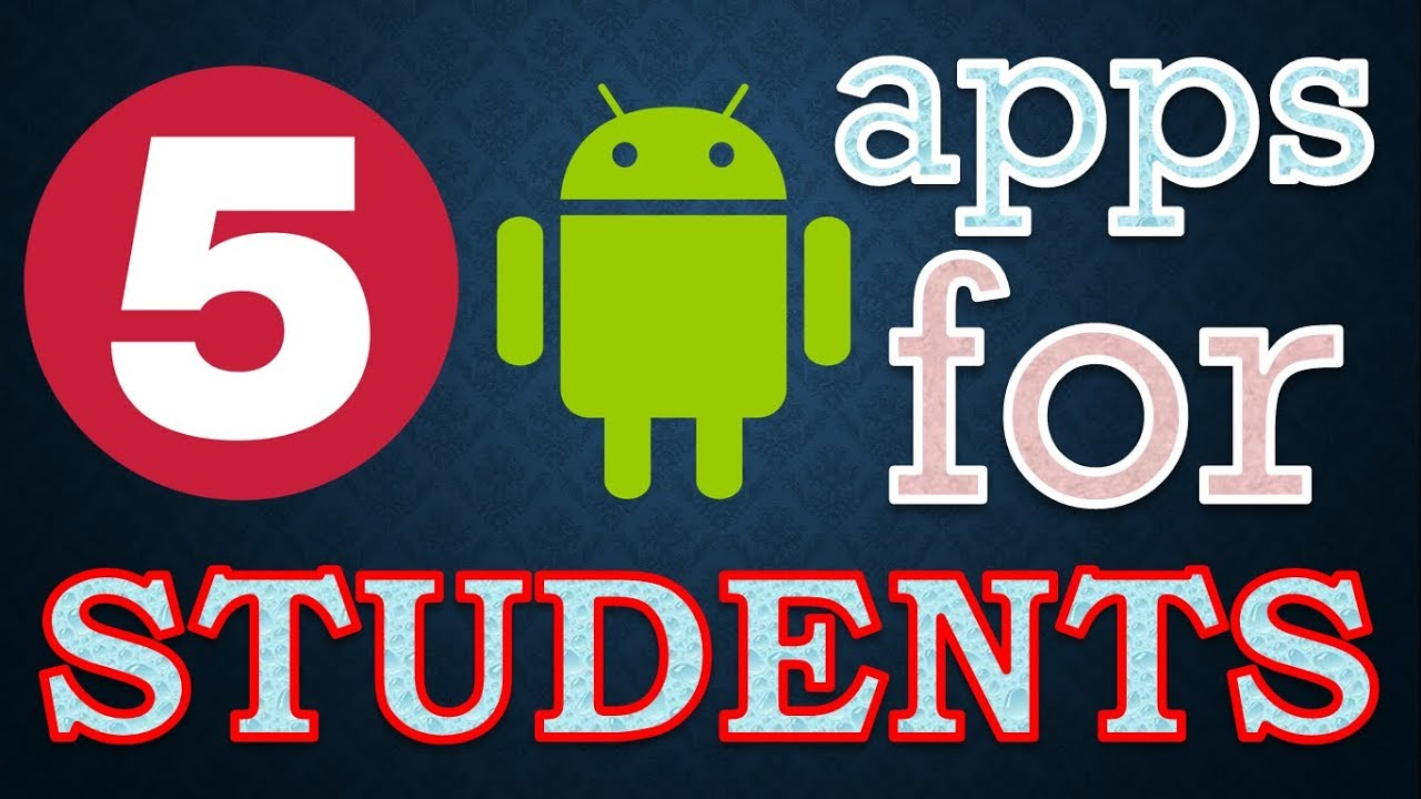✔{HINDI} Top 5 Best Android Apps For Students || latest education apps free for android
